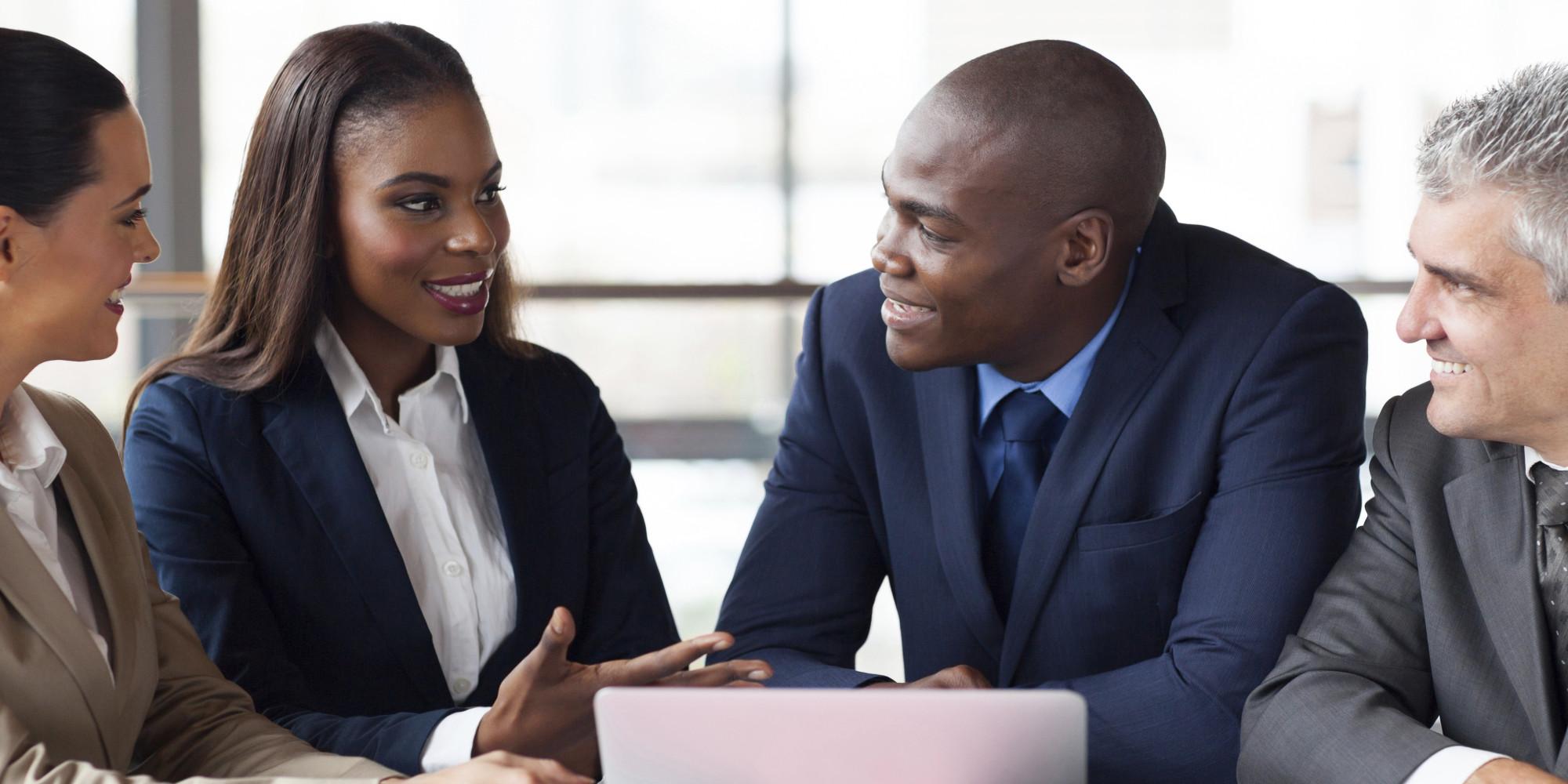 business partners in Ghana
