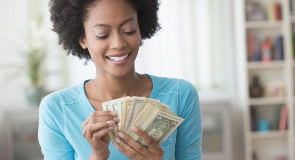 black girl money
