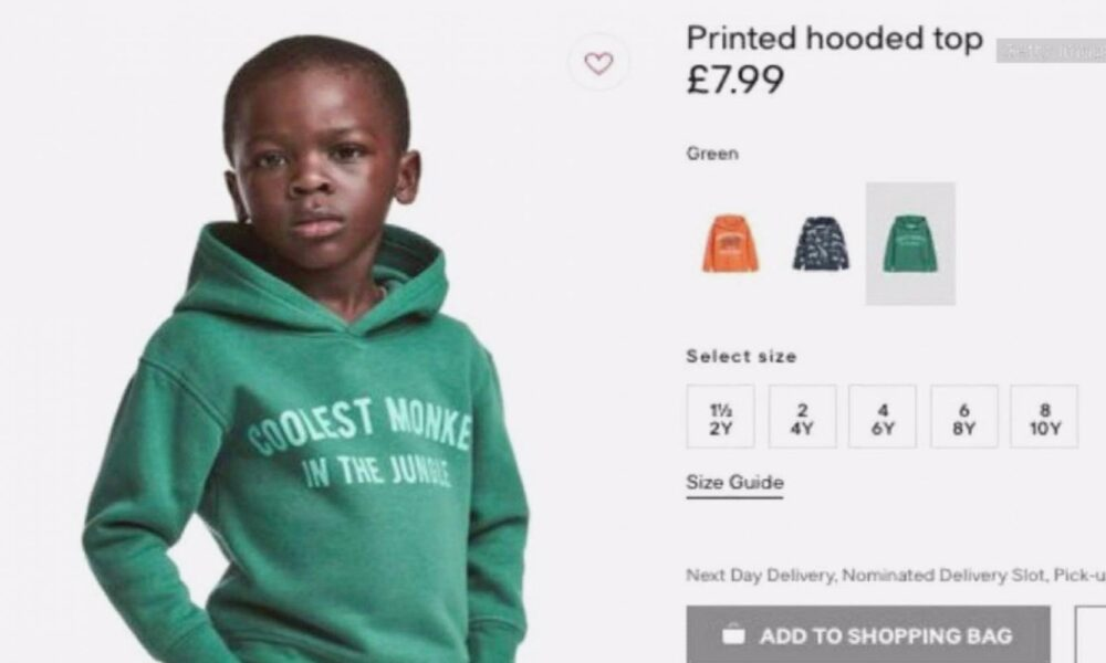 Coolest monkey in the jungle by H&M